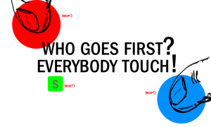 Who Goes First prompt mockup
