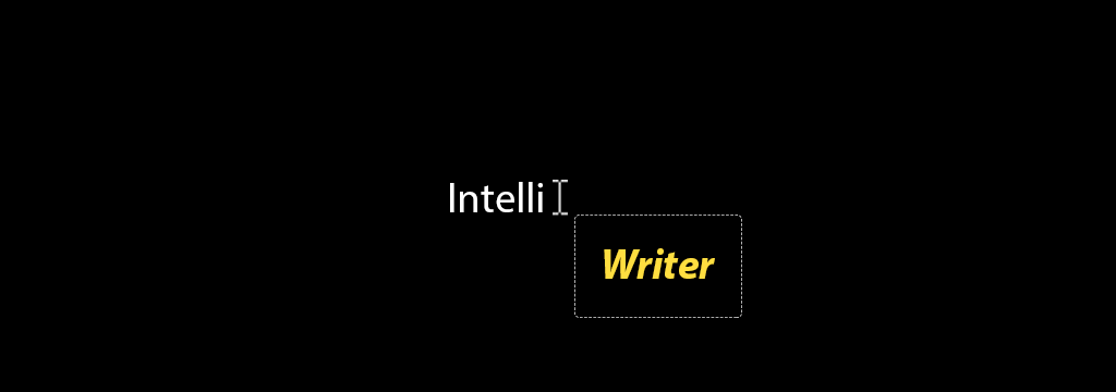 IntelliWriter Logo
